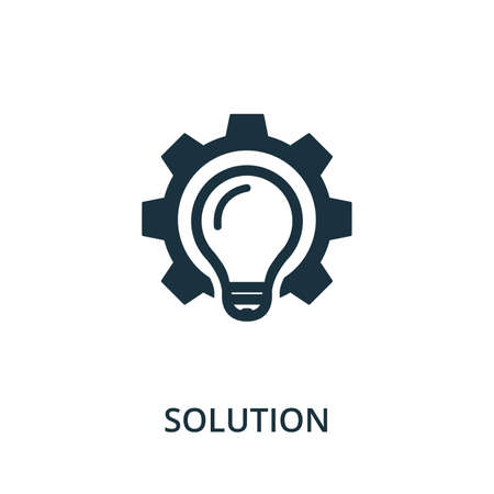 Personal Solution icon from reputation management collection. Simple line element personal solution symbol for templates, web design and infographics.
