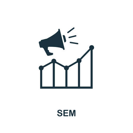 Sem icon. Simple element from community management collection. Filled Sem icon for templates, infographics and more