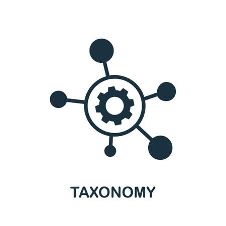 Taxonomy icon. Simple element from community management collection. Filled Taxonomy icon for templates, infographics and more