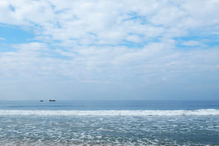 secluded: Indian Ocean in calm weather