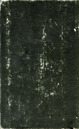 Ein Alter, antik, sehr alt, schwarz Buchcover.