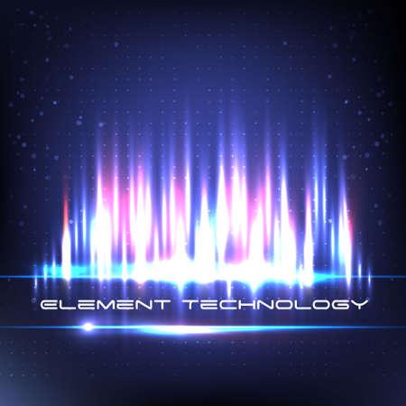 digital music: Digital Equalizer. Equalizer space. Music. Vector illustration. New