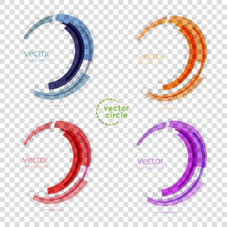 circle icon: Business Abstract Circle icon