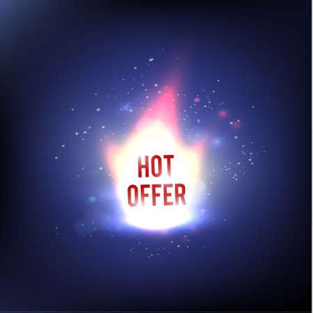 miserly: Hot Sale Offer - Illustration. Fire