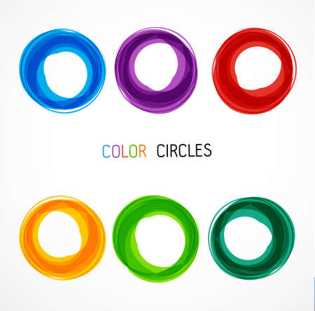 Circle set. Business Abstract Circle icon.