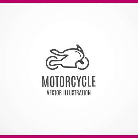 Motorcycle Icon Ilustrace