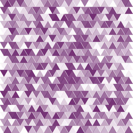 Abstract retro pattern of geometric shapes. Colorful gradient mosaic backdrop Ilustração
