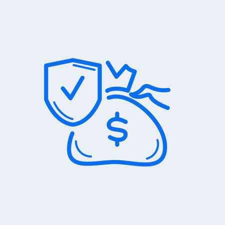 Money Bag Icon Vector symbol