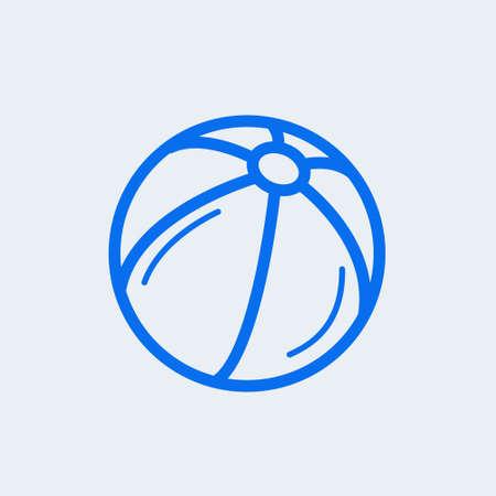 Ball isolated minimal single flat icon