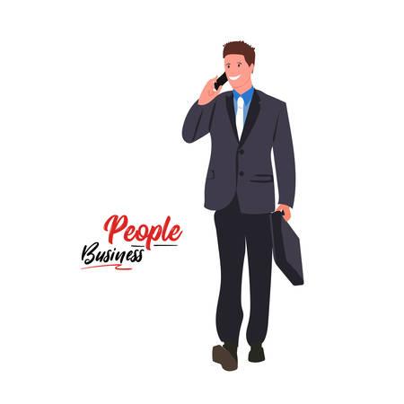 People business man vector illustration