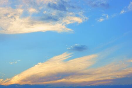 mottled: Mottled clouds