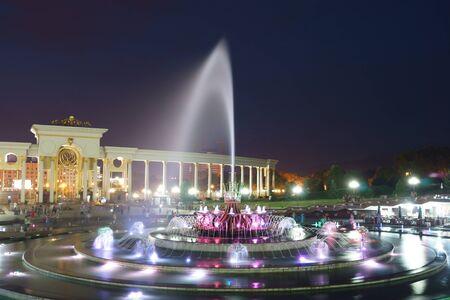 Night fontain