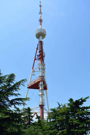 tbilisi: Tower of communications in Tbilisi