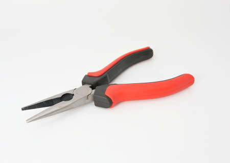 chrome vanadium: side cutters tools with red rubber handle