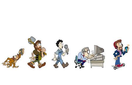 La evolución del trabajo