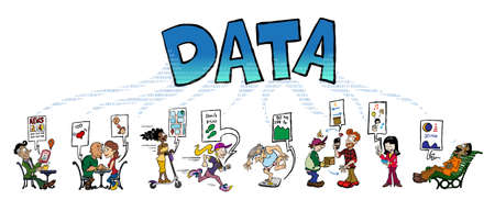 Big data generated by human activities