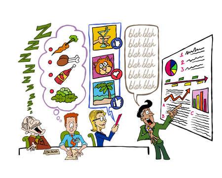 Presentation Skills Stockfoto