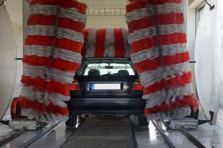 car wash Standard-Bild