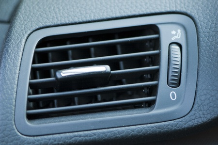 Air conditioner in a car photo