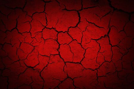 red abstract background - cracked wall Stock Photo - 16564039