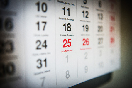 december 25: December 25 marked the Polish calendar