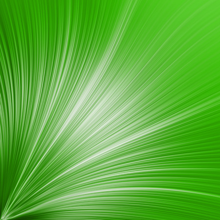 coroner: abstract background - green lines from the lower left corner Stock Photo