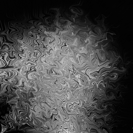 coroner: black and white abstract background, wavy lines Stock Photo