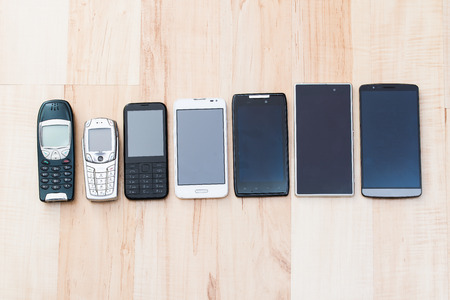 collation: set phones - old and new devices