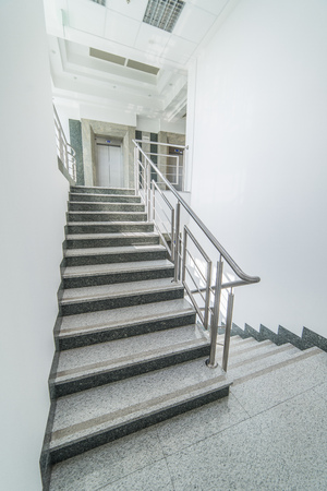 Elevator, Stairs   Staircase Story Office Building Stock Photo   68693777