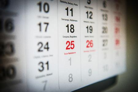 December 25 marked the Polish calendar