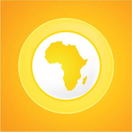 yellow african: africa sun