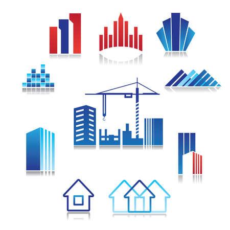 看板 - 建設、不動産、建物のパターン