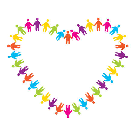 people helping people: sign of love and friendship