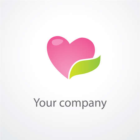 template to mark the company Vector