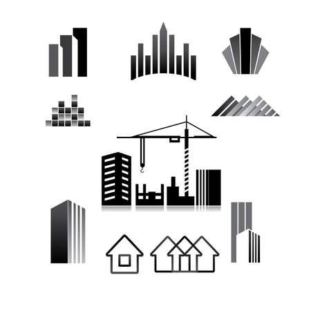 built tower: patr�n del signo - construcci�n, propiedad, bienes ra�ces, construcci�n