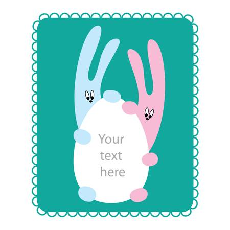 Easter Greetings template Vector