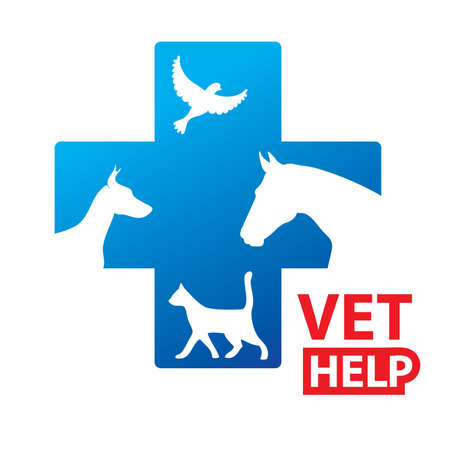Sign - Veterinary Relief Services Stock Vector - 9458041