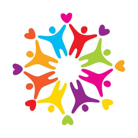 znak - symbolizuje miłość, przyjaźń i wzajemność