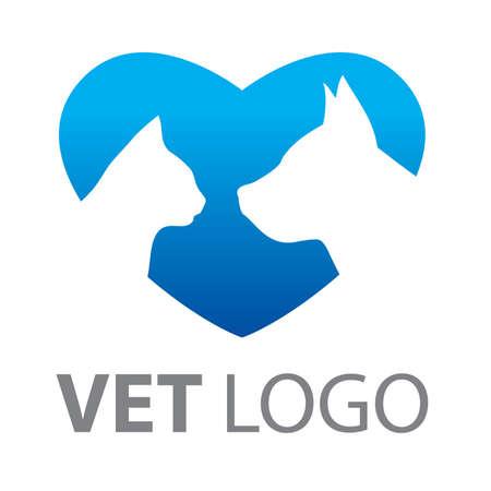 servicio domestico: signo de veterinaria Vectores