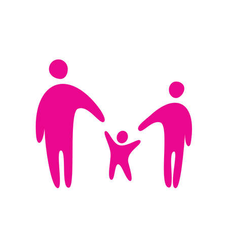 Sign - family. Vector