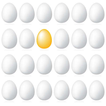 abundance: Commercial background - The Best for You!. Golden egg - a symbol of wealth and abundance. Use your design.