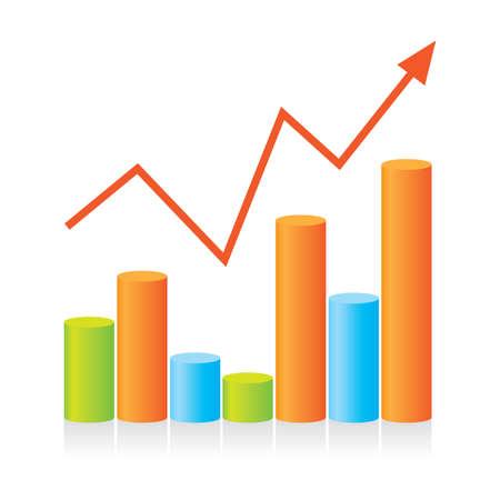 Modello grafico mostra i progressi della presentazione. Per il vostro disegno.