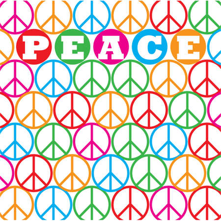 Background - peace. Stock Vector - 9717338