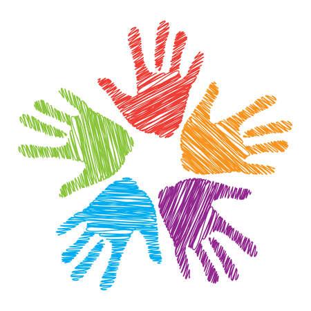 soutien: Un signe d'amiti�, d'unit�, de soutien et d'assistance.