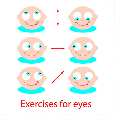 eye wear: Set of exercises for the eyes. Good eyesight!