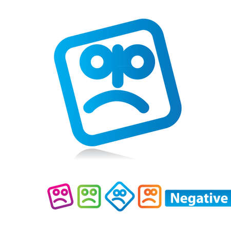 wicked set: Negative emotion - set of icons