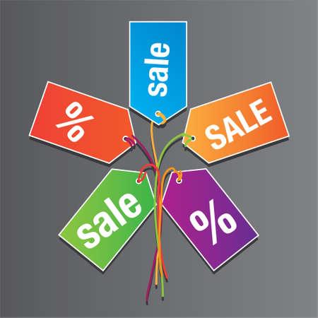 Icon sales. Concept of design. Stock Vector - 17249612