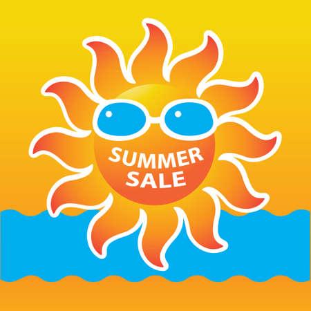 Summer Sale Icon / Summer Sale Template / Summer fashion sale Stock Vector - 17249575
