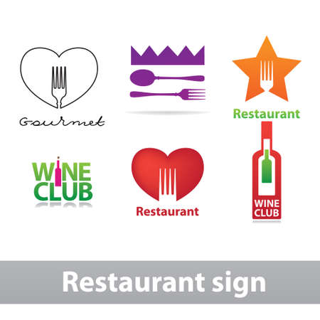 cafe bistro: The character set of design patterns for restaurant  cafe  bistro  bar.
