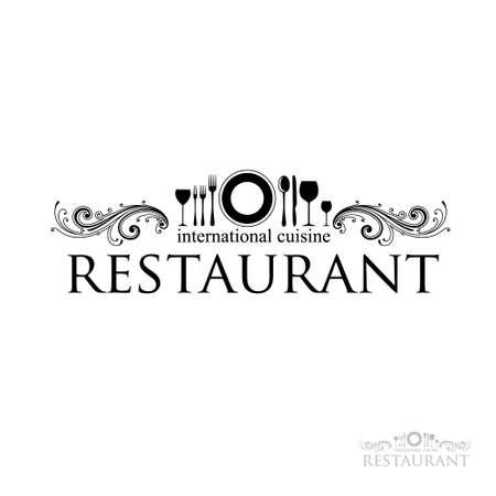 menu de postres: idea de un signo - restaurante - cocina internacional.